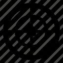 aim, archery, gun, sport, target icon