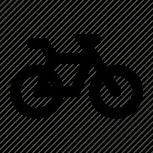 bicycle, bike, mountain bike, racing icon