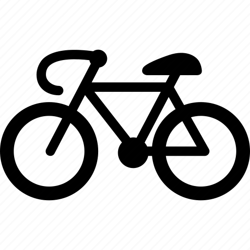 bicycle, bike, cyclist, race, transport icon