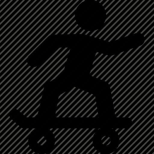 extreme, skate, skateboard, skater, skating, sport, x-games icon