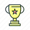cup, game, sports, trophy icon
