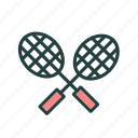 badminton, ball, game, sports icon