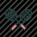badminton, ball, game, sports