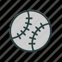 ball, game, softball, sports