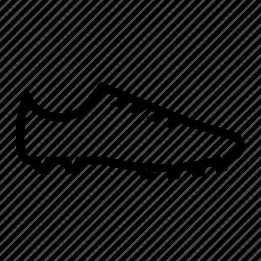 football, football shoe, shoe, soccer, soccer shoe icon