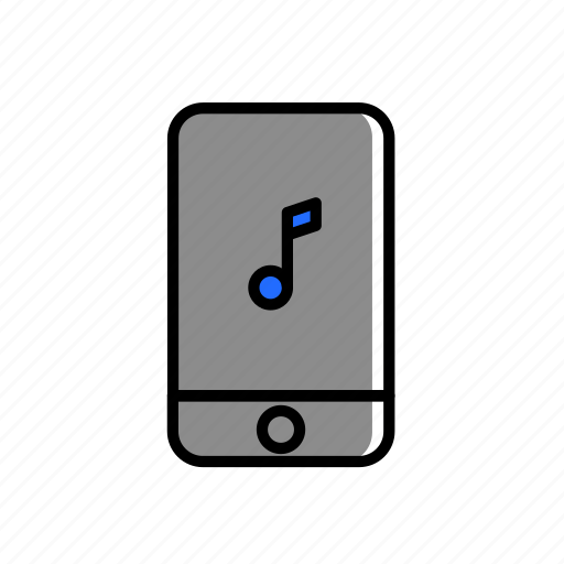colored, excercise, iphone, music, playlist, sport, tune icon