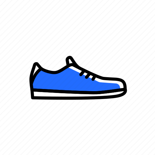 colored, equipment, excercise, shoes, sport, training icon