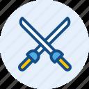 hanggar, sport, sword, athletics
