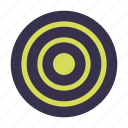 arrow, arrows, bullseye, goal, sport, target icon