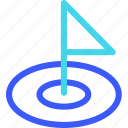 25px, golf, hole, iconspace icon
