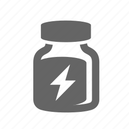 bottle, energy, nutritional, power, sports, strength, supplement icon