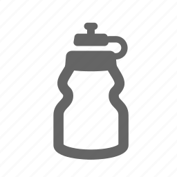 bottle, drink, flacon, gym, liquid, sports, water icon
