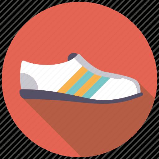 athletics, equipment, footwear, runner, sports, sports shoe, sports wear icon