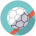 ball, equipment, handball, sports, team sports icon