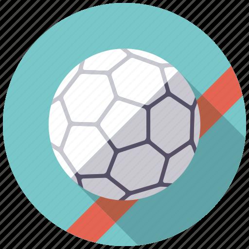 ball, equipment, handball, sports, team sports icon