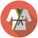 black belt, combat sports, equipment, judo, sports, sports wear, taekwondo icon