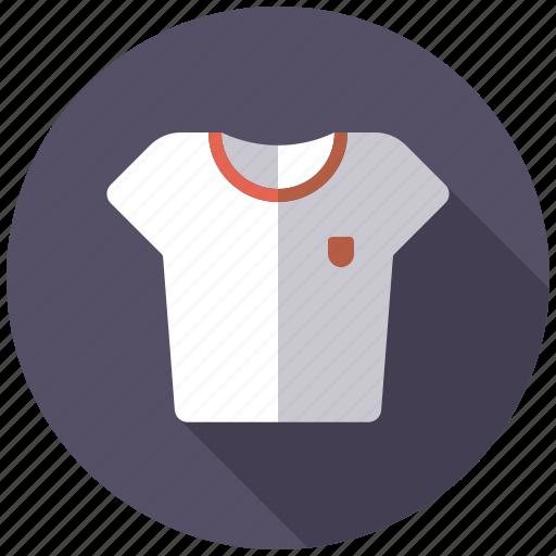 athletics, gymnastics, shirt, sports, sports wear, t-shirt icon