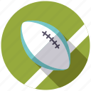 ball, equipment, rugby, sports, team sports icon