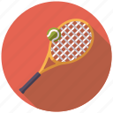 ball, equipment, racket, sports, tennis, tennis ball icon