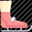 shoe, skate, skating icon