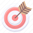 archer, object, traget icon