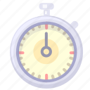 race, stop, time, watch icon