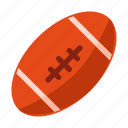 american, ball, field, football, game, gridiron, rugby icon