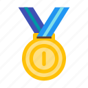 award, champion, medal, prize, trophy, win, winner icon