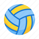 ball, beach, game, sport, volleyball icon