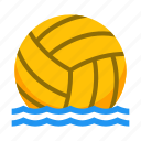 ball, game, polo, pool, sport, water icon