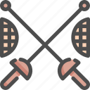 fencing, olympic, sport, sports, sword icon