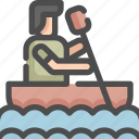 boat, canoes, olympic, sailboat, ship, sport, sports icon