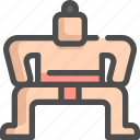 game, japan, olympic, sport, sports, sumo icon