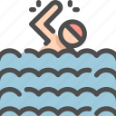ball, olympic, pool, sport, sports, swim, swimming icon
