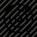 aim, archery, arrow, goal, target icon