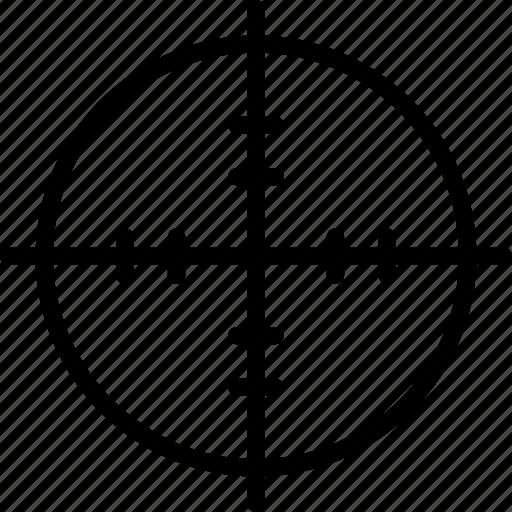 aim, goal, shooting, target icon