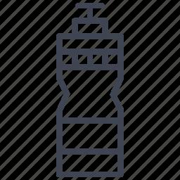 beverage, bottle, drink, health, sports, water icon