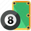 ball, billiard, game, pool, sports, table icon