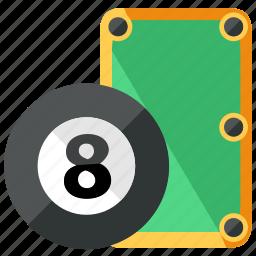 ball, billiard, game, pool, sports, table icon
