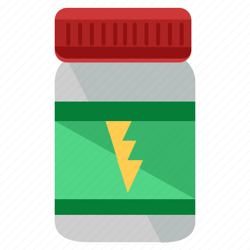 energy, medication, medicine, sports, substance icon