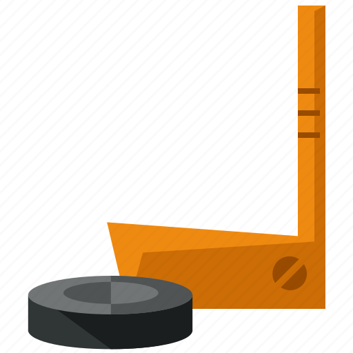 game, hockey, puck, sports, stick icon