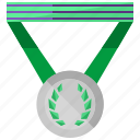 achievement, game, medal, sports, winner icon