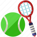 ball, game, racket, raquet, sports, tennis icon