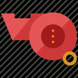 audio, game, referee, sound, sports, whistle icon