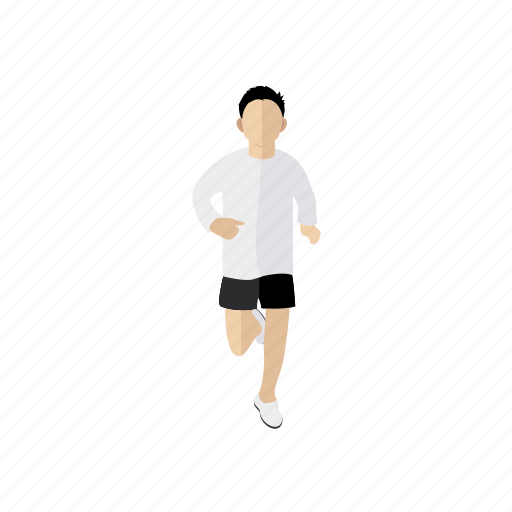 people, run, sport, trainer icon