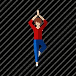 floating, guru, sport icon