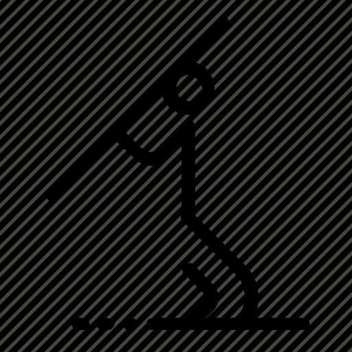 spear, throw icon