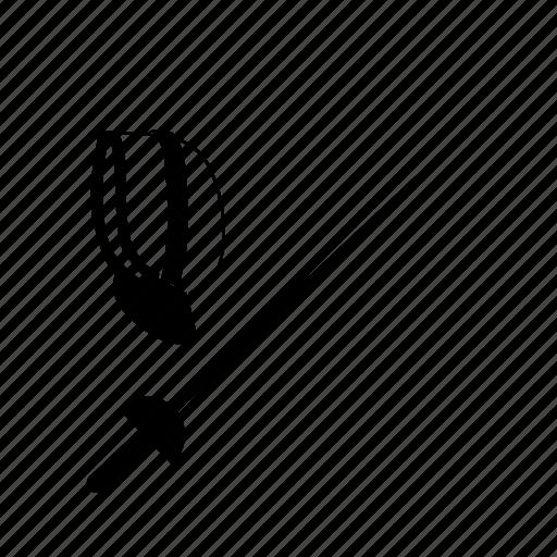 fence, fencing, sport, sword icon