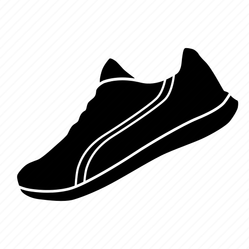olympics, running, shoe icon