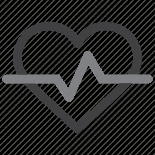 heartbeat, pulsation, pulse icon
